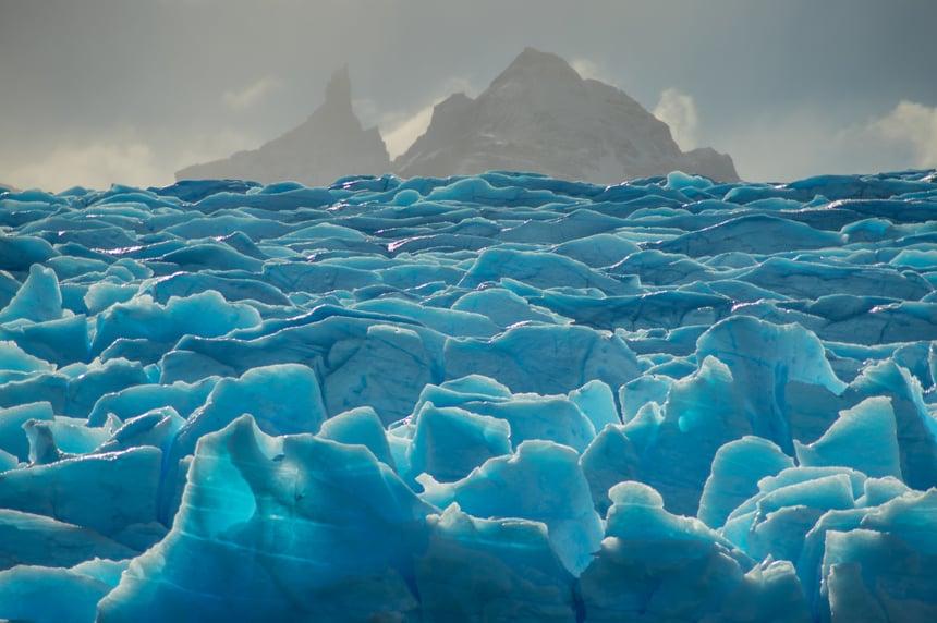 Grey Glacier in Patagonia
