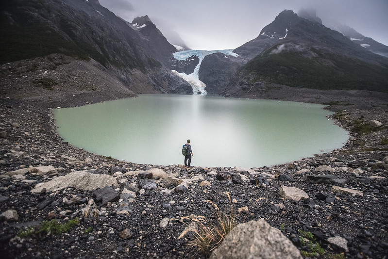 patagonia trek glacier lagoon