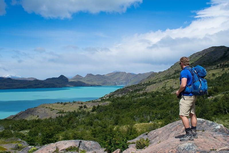 Nordenskjöld lake on the W Trek, Torres del Paine