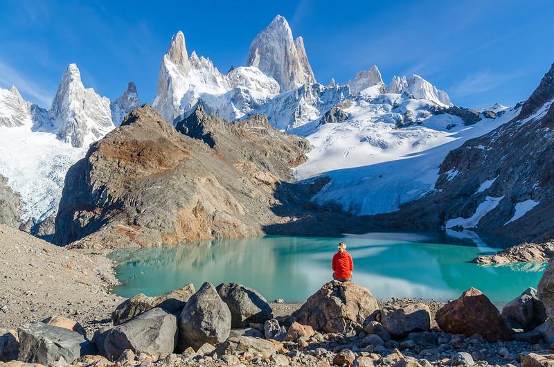 Laguna de Los Tres, Mt. Fitzroy, Argentina