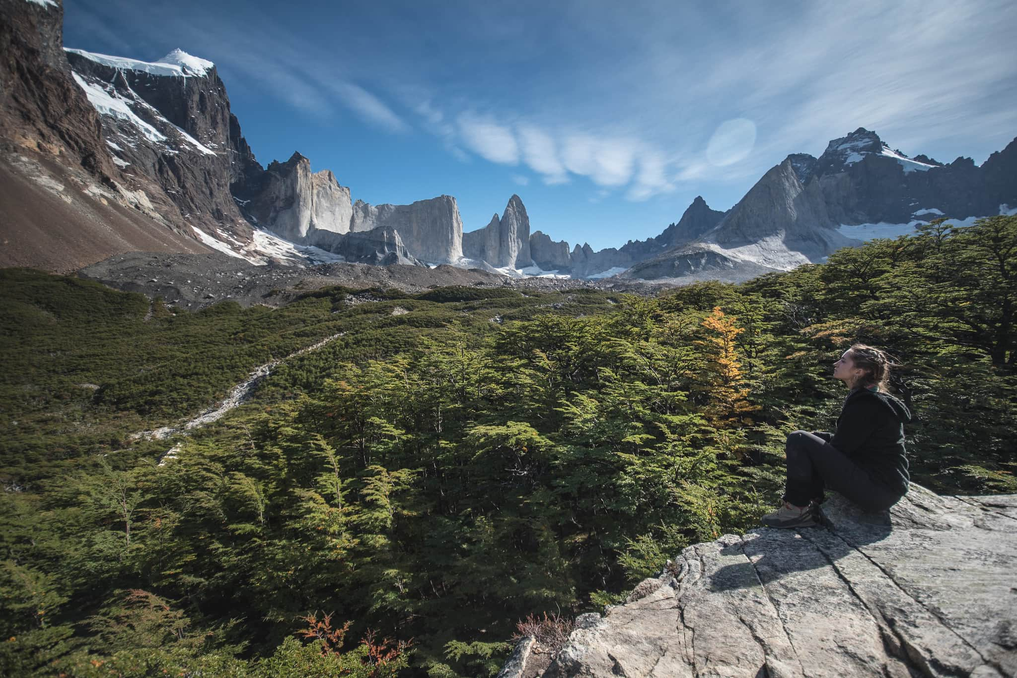 The British Viewpoint in Torres del Paine National Park