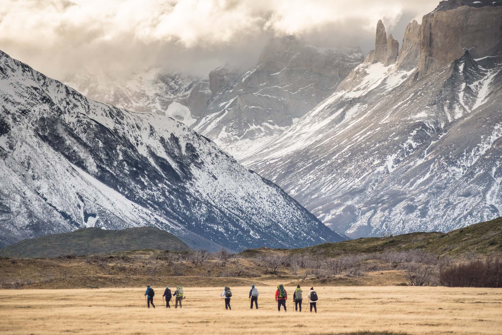 Hiking to French Valley in Torres del Paine