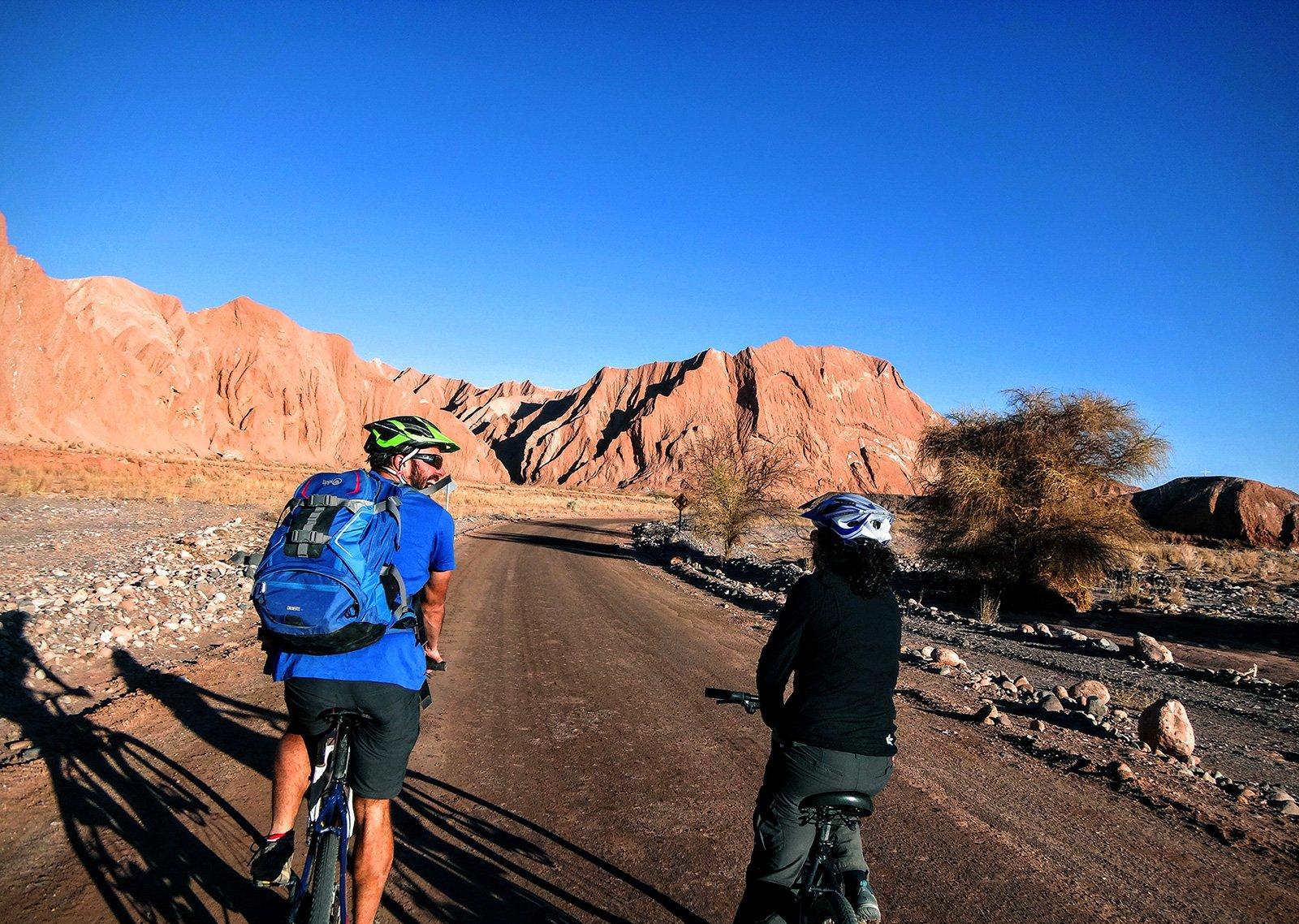 Garganta del Diablo Bike tour in Atacama