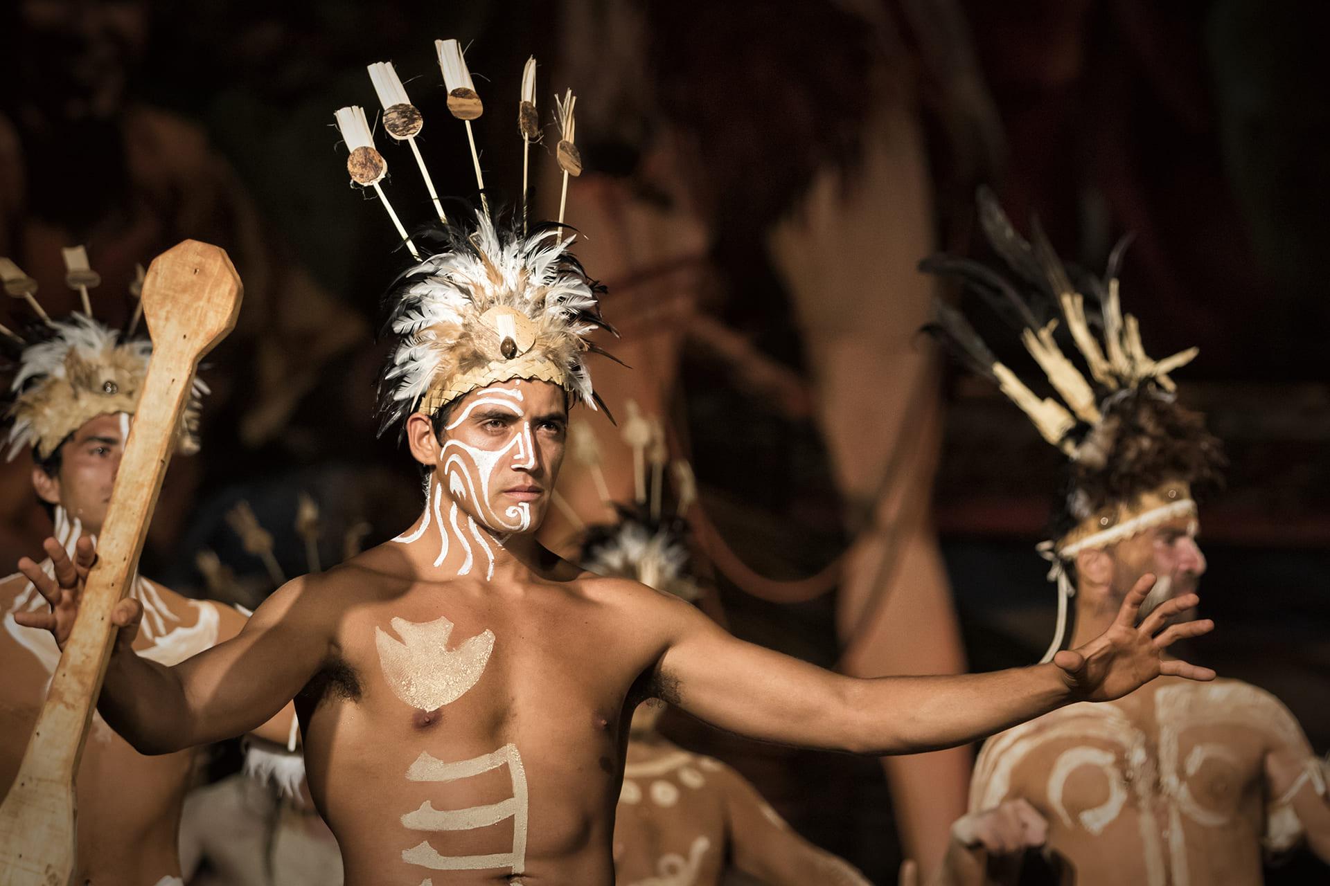Tapati Rapa Nui Dancer
