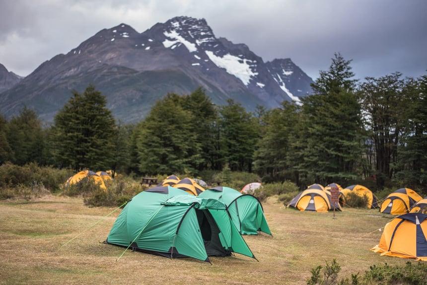 PAT017 _ Torres del Paine _ Refugio Dickson Campsite