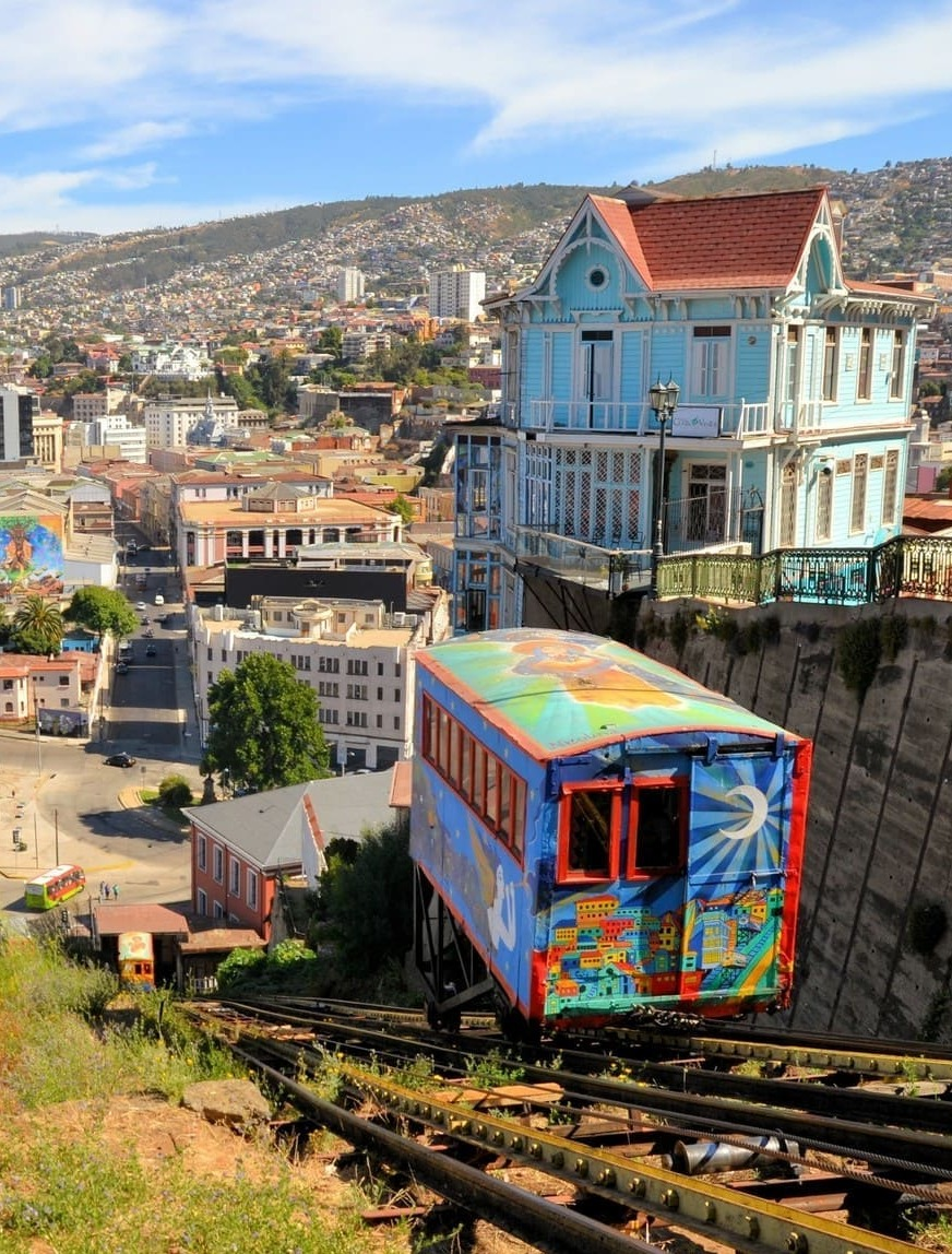 Valparaiso Ascensor Artilleria