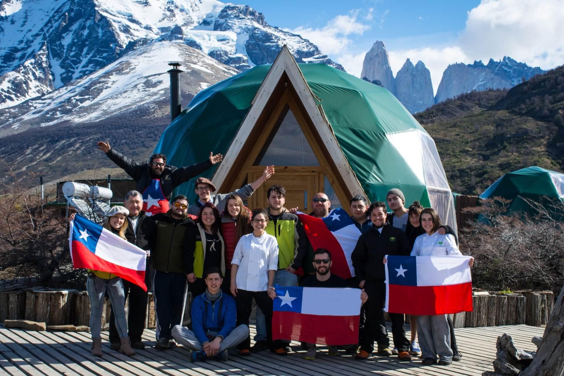 EcoCamp Team - Chile flag