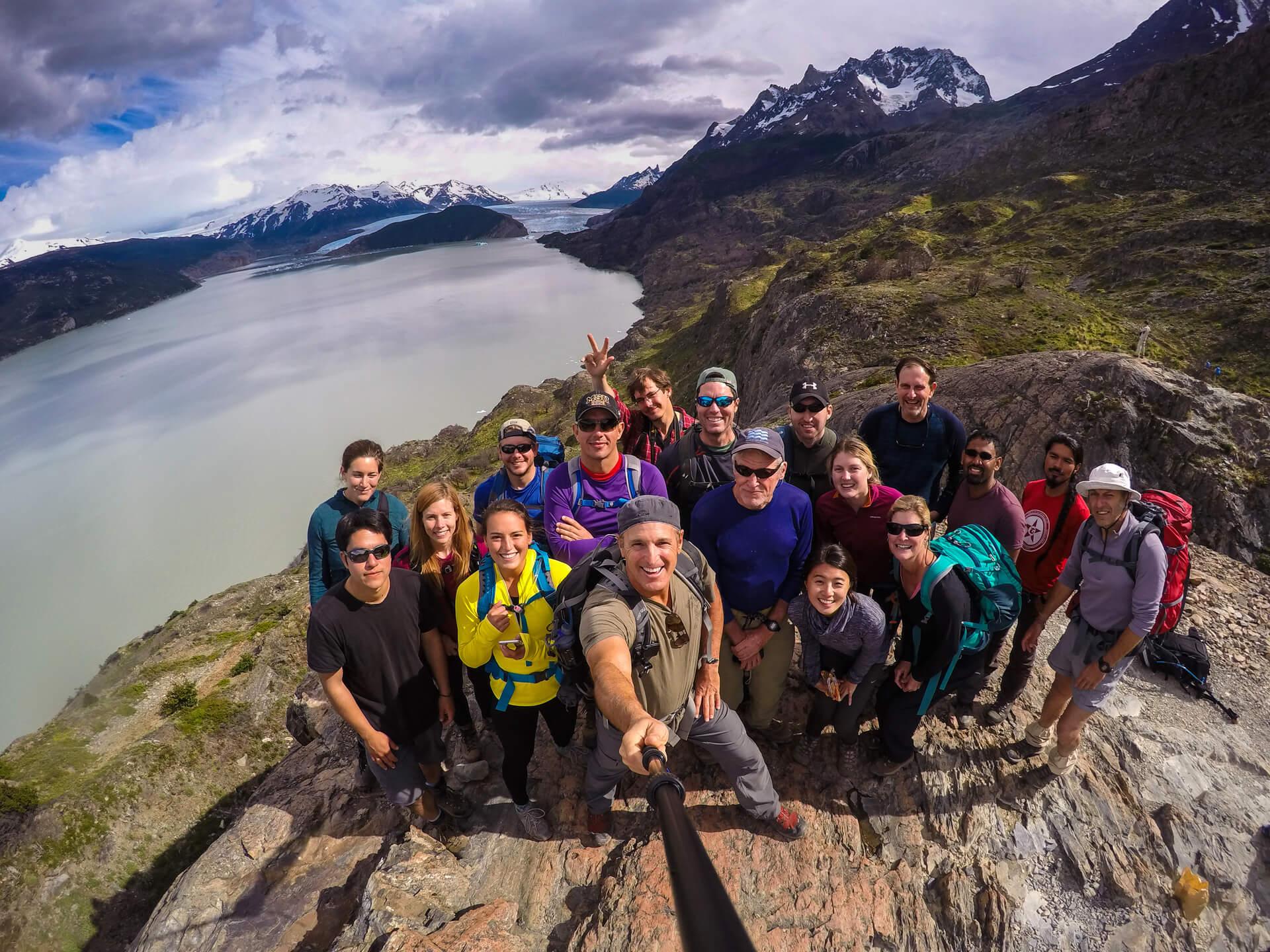 W Trek, Torres del Paine