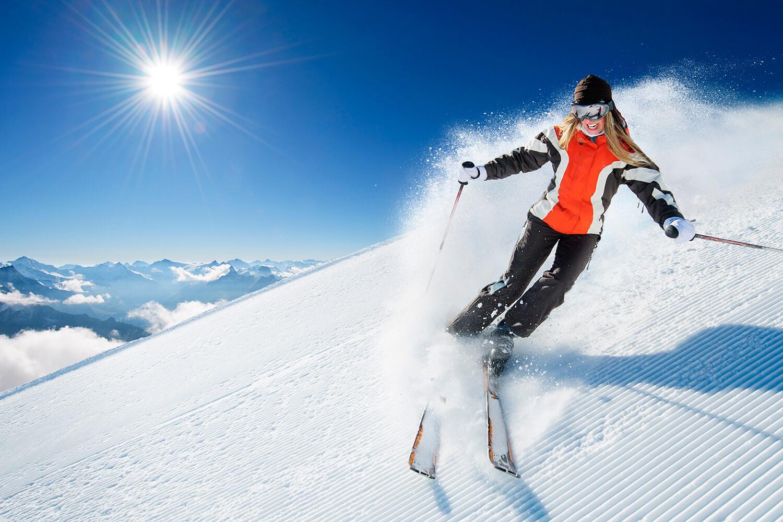 ski andes winter