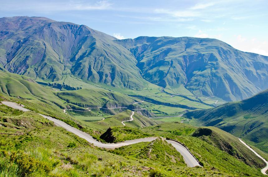 Northwest Argentina landscapes