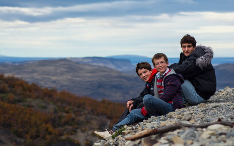 Patagonia travel with kids
