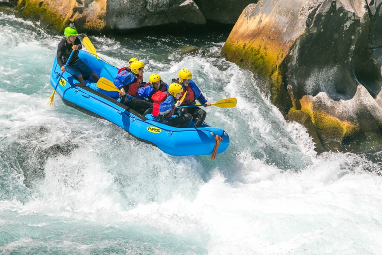 Rafting in Chile