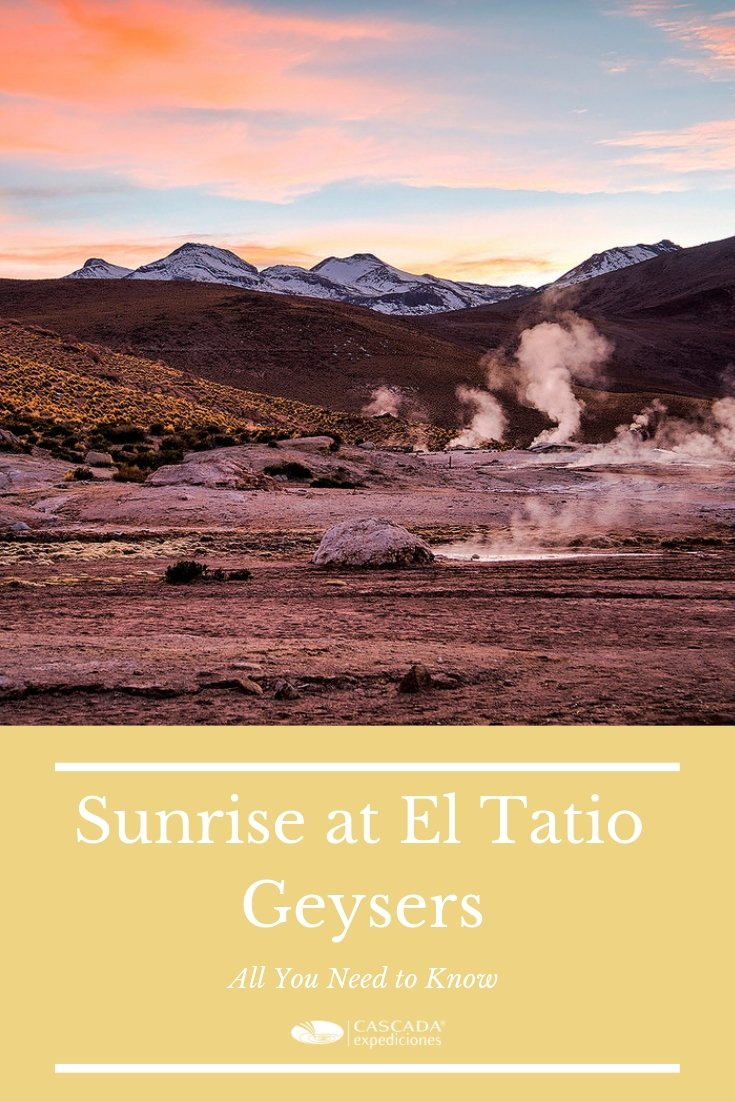 Sunrise at El Tatio Geysers
