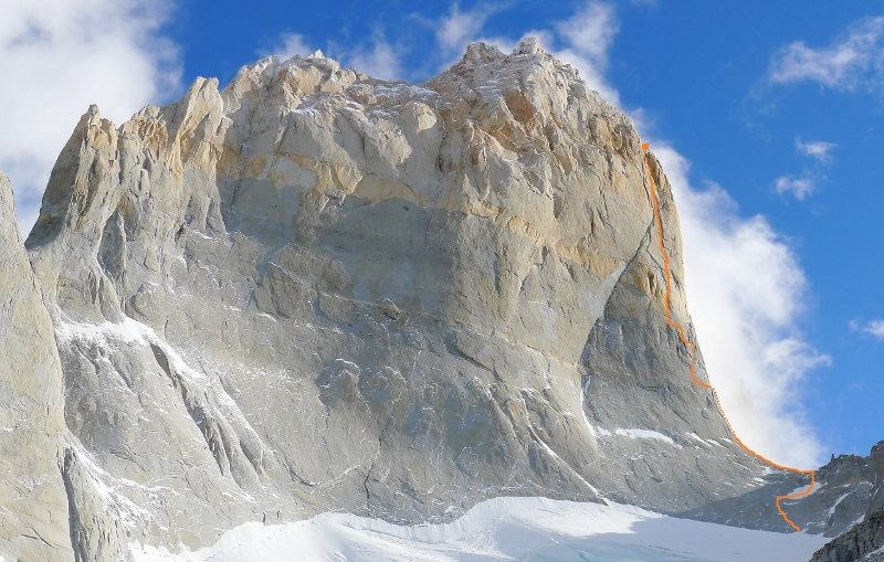 Wall of Paine South Tower