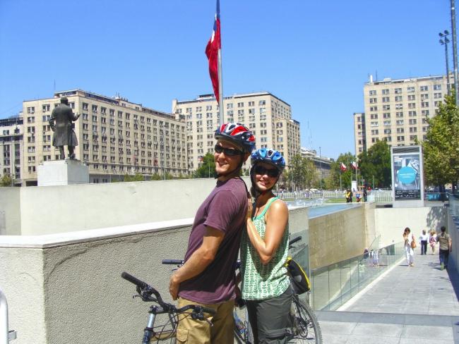 Santiago Biking Tour