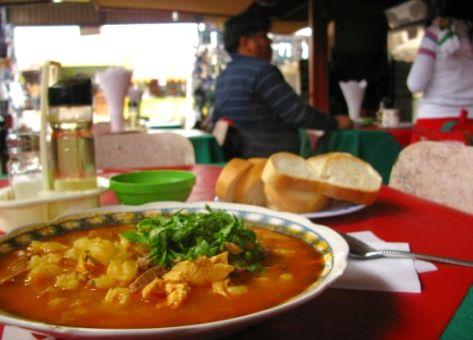 Calapurca food