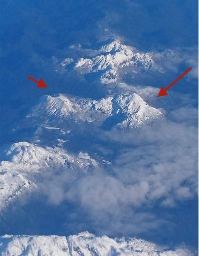 Mate Grande volcano in Chile