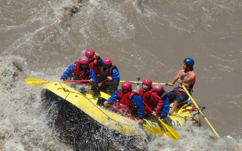 rafting in chile 2