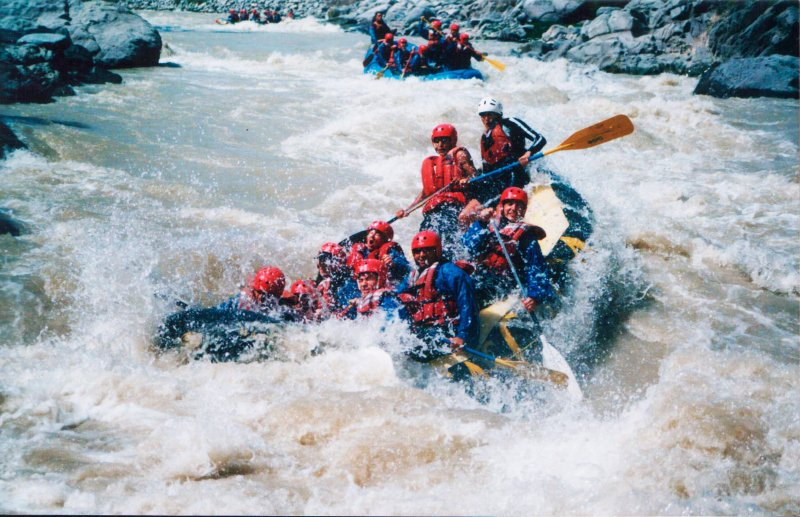rafting in chile 3
