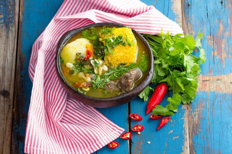 santiago food