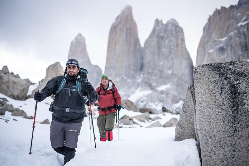 winter w trek - base torres