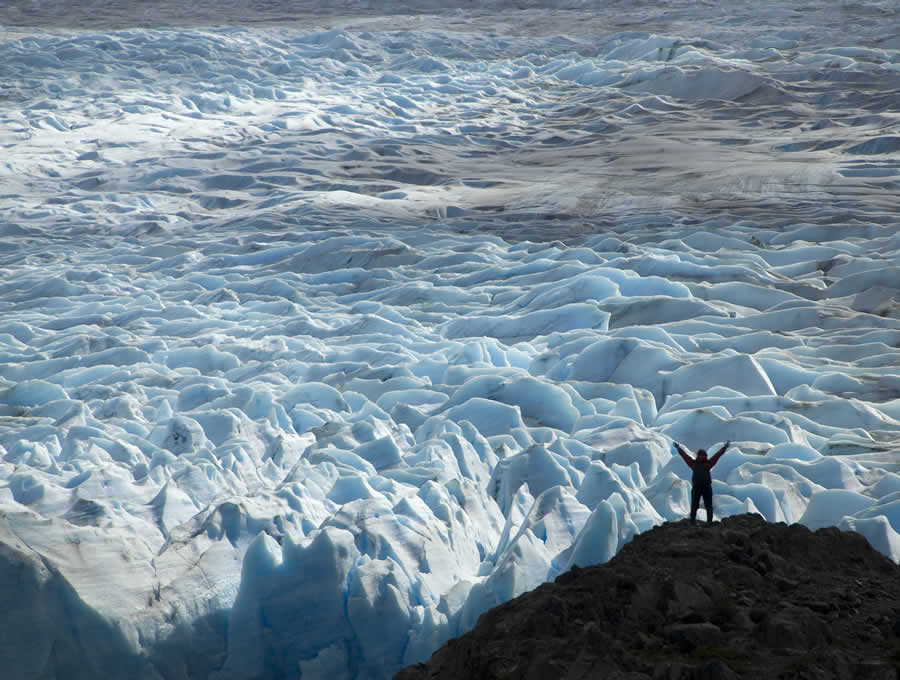 Grey Glacier on the O Trek