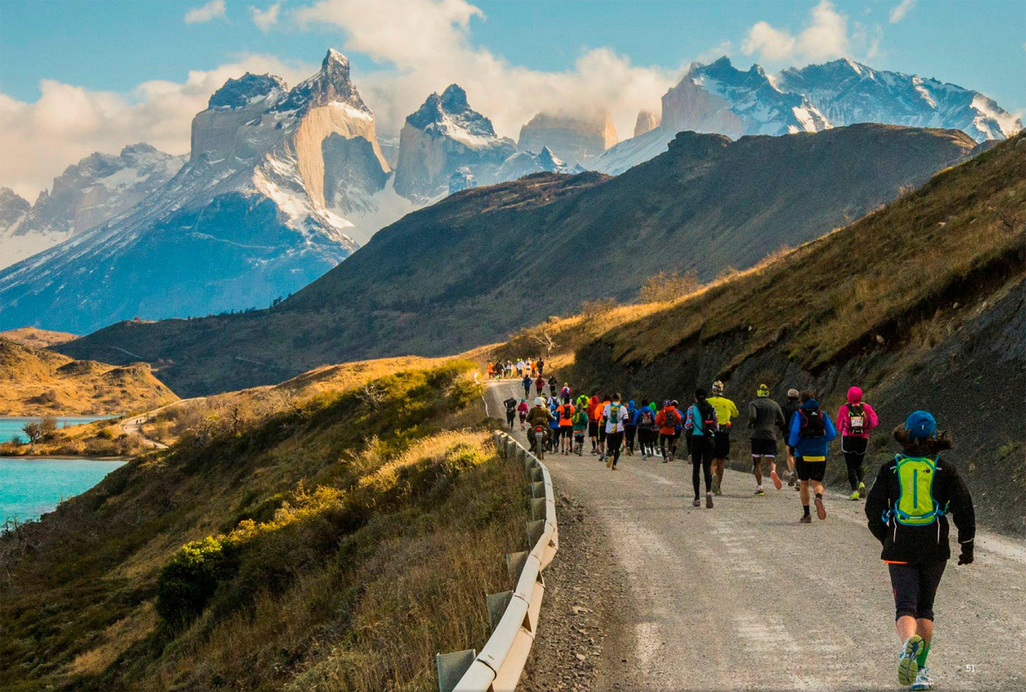 marathon in Torres del Paine
