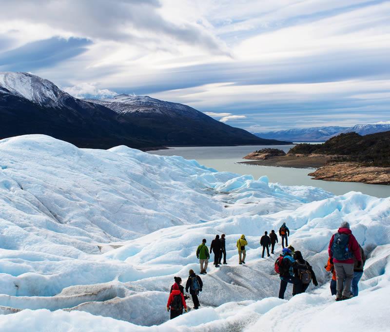 perito moreno glacier hiking ecocamp extension