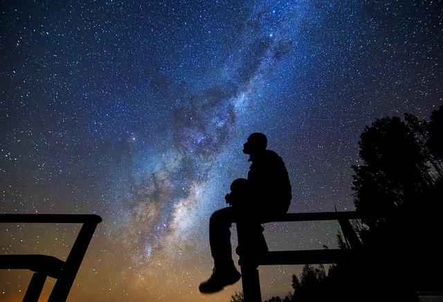 Star gazing Atacama