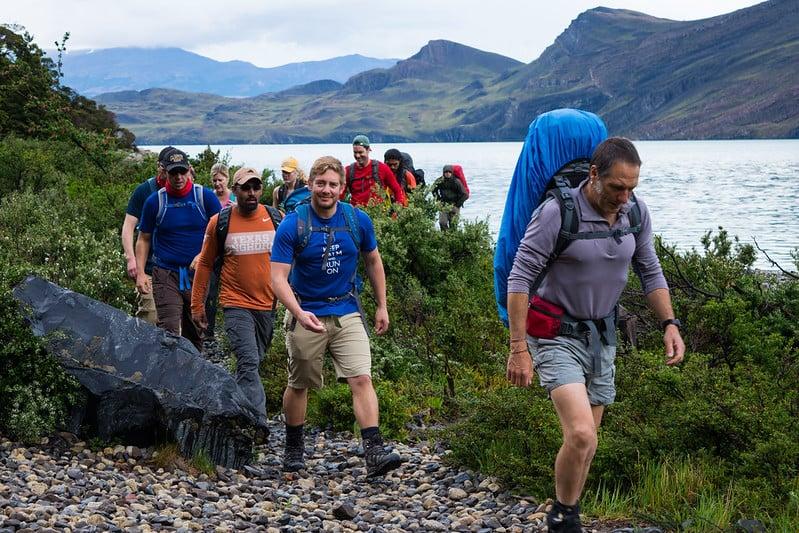 W Trek - Los Cuernos Trail