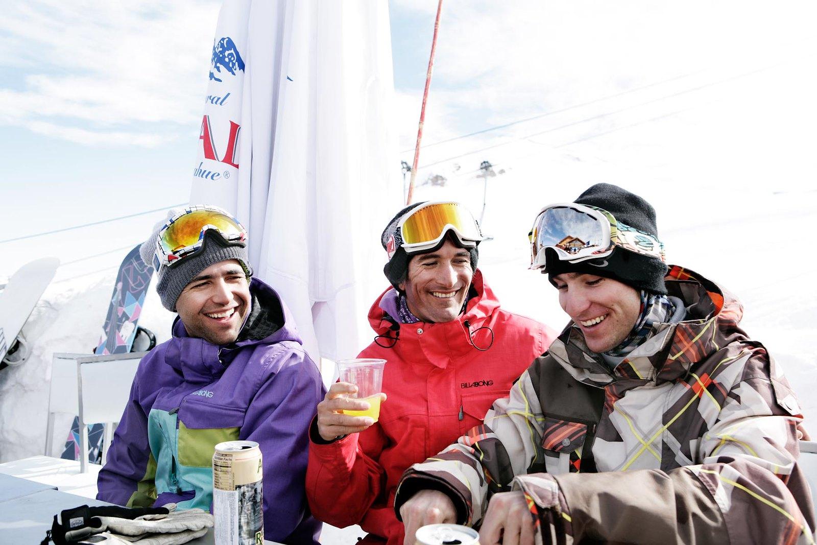 friends ski andes