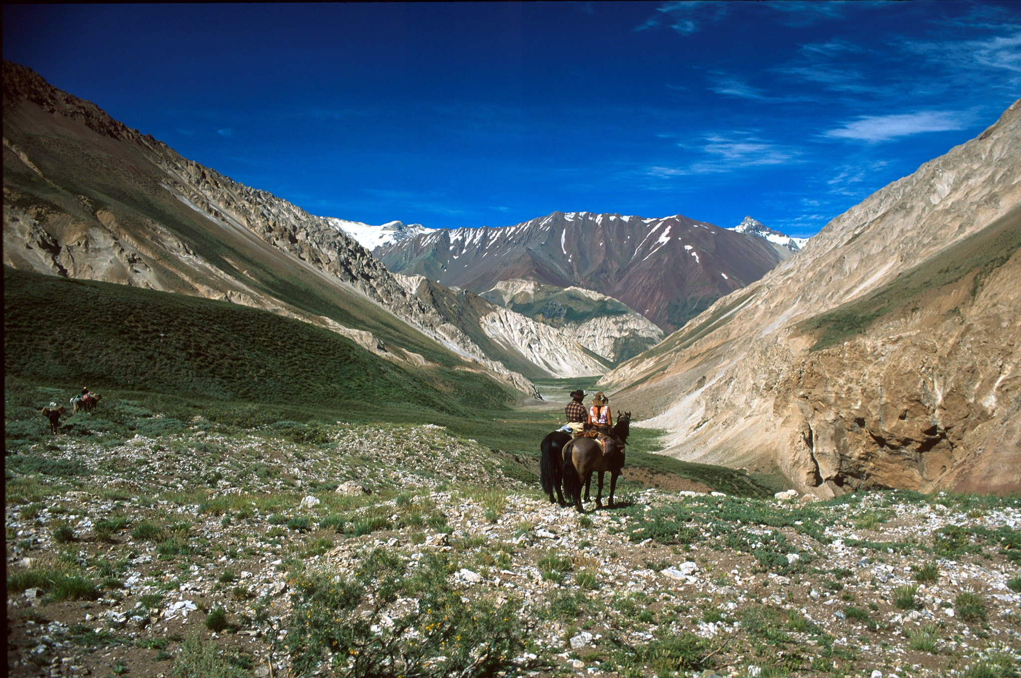 horseback riding central andes