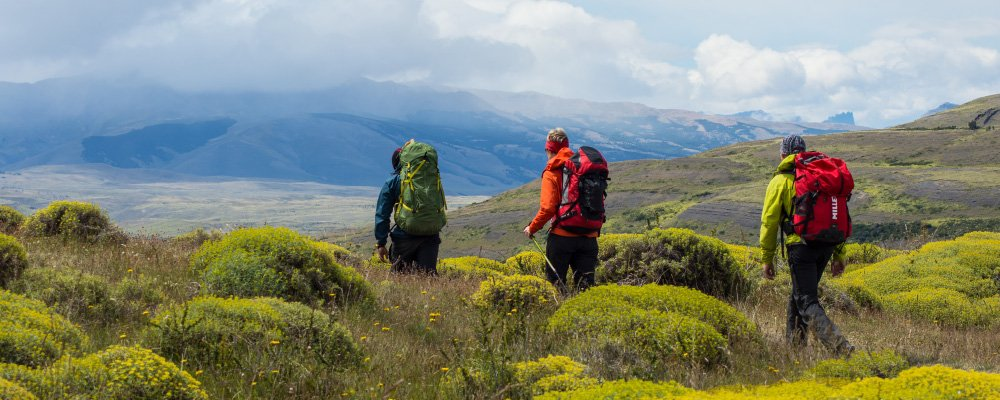 Hiking in Chilean Patagonia