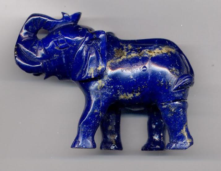 lapiz lazuli elephant