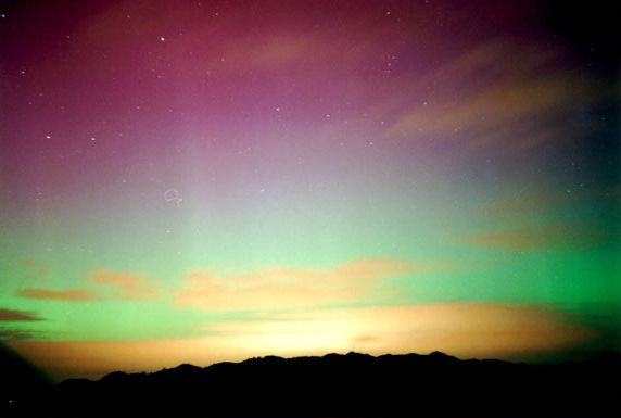 The Southern Lights from New Zealand