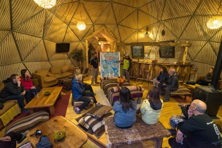 Community Domes at EcoCamp