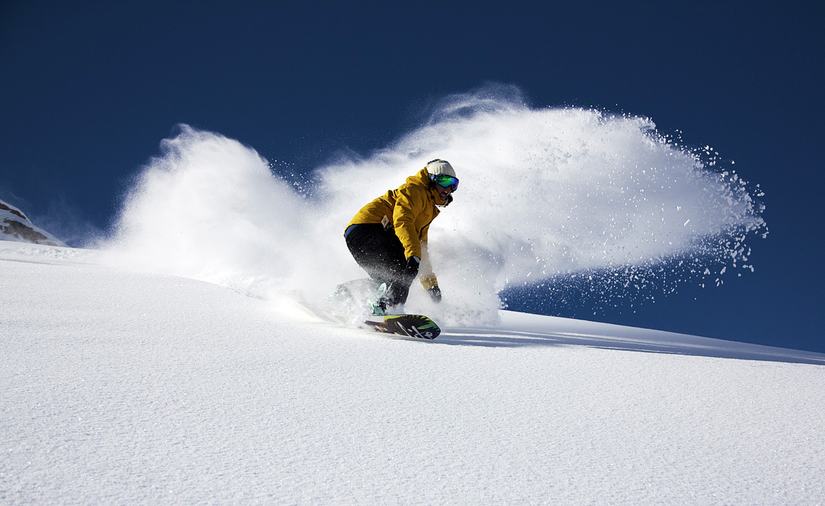 snowboard andes