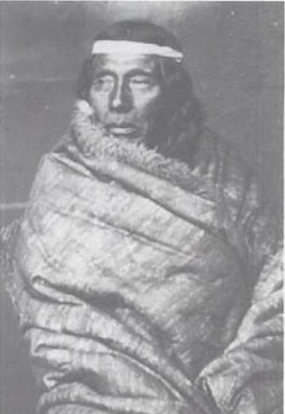tehuelche tribe person patagonia